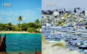 La isla vertedero de Maldivas donde el plástico arde sin parar